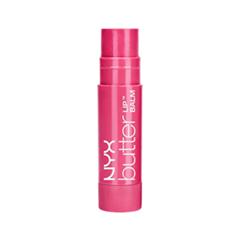 Цветной бальзам для губ NYX Professional Makeup Butter Lip Balm 02 (Цвет 02 Ladyfingers variant_hex_name E65880)