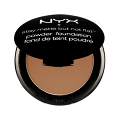 Пудра NYX Professional Makeup Stay Matte But Not Flat Powder Foundation 10 (Цвет 10 Caramel variant_hex_name DEB386)