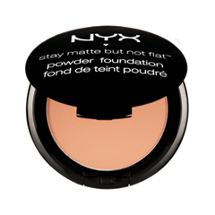 Пудра NYX Professional Makeup Stay Matte But Not Flat Powder Foundation 17 (Цвет 17 Warm variant_hex_name DE9D70)