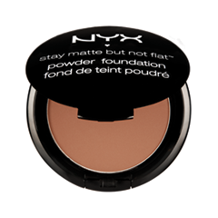 Пудра NYX Stay Matte But Not Flat Powder Foundation 19 (Цвет 19 Cocoa)
