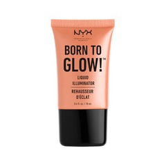 Хайлайтер NYX Professional Makeup Born To Glow Liquid Illuminator 02 (Цвет 02 Gleam variant_hex_name F8A792) праймер nyx professional makeup big