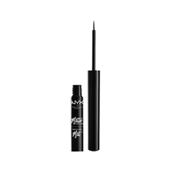 Подводка NYX Professional Makeup Matte Liquid Liner 01 (Цвет 01 Black variant_hex_name 000000) подводка nyx professional makeup super skinny eye marker цвет carbon black variant hex name 000000