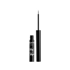 Подводка NYX Professional Makeup Vinyl Liquid Liner 01 (Цвет 01 Black variant_hex_name 000000) подводка nyx professional makeup super skinny eye marker цвет carbon black variant hex name 000000