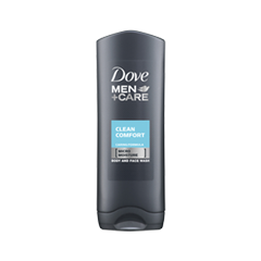 Гель для душа Dove Men+Care Clean Comfort Body and Face Wash (Объем 250 мл)
