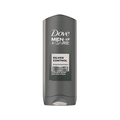 Гель для душа Dove Men+Care Silver Control Body and Face Wash (Объем 250 мл)