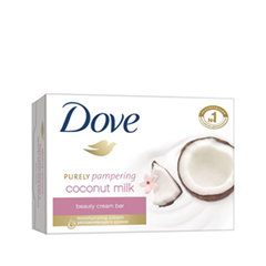 Мыло Dove Purely Pampering Coconut Milk Beauty Cream Bar (Объем 135 г)