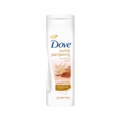 Лосьон для тела Dove Purely Pampering Shea Butter & Warm Vanilla Nourishing Lotion (Объем 250 мл)