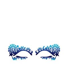 цены  Аксессуары Face Lace Наклейки на глаза Dovechild Festival Sky