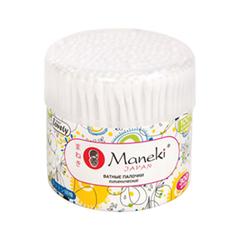 Мелочи для макияжа Maneki Ватные палочки Lovely 300 шт.