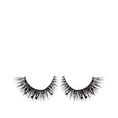 ��������� ������� Flutter Lashes Isabella with Fuschia & Black Crystals