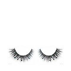 Накладные ресницы Flutter Lashes Isabella with Green Black Crystals