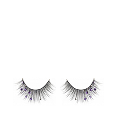 Накладные ресницы Flutter Lashes Isabella with Purple Smoke Crystals
