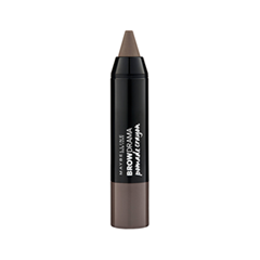 Карандаш для бровей Maybelline New York Brow Drama Pomade Crayon 02 (Цвет Soft Brown variant_hex_name 92827B)