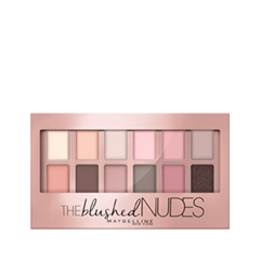 Для глаз Maybelline New York The Blushed Nudes maybelline палетка теней the nudes 01