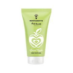 Зубная паста MontCarotte Green Apple KIDS Tooth Gel (Объем 30 мл)
