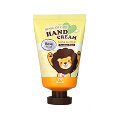 ���� ��� ��� Rainbow Sense of Care Hand Cream Shea Butter Rose (����� 35 ��)