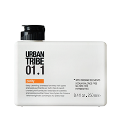 Шампунь Urban Tribe 01.1 Shampoo Purity (Объем 250 мл) стайлинг urban tribe пенка 06 1 kaptor medium объем 250 мл