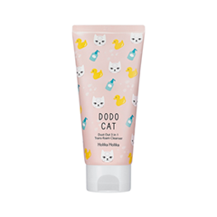 Пенка Holika Holika Dust Out DoDo Cat 3-in-1 Trans Foam Cleanser (Объем 120 мл)