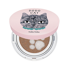 Кушон Holika Holika Face 2 Change DoDo Cat Glow Cushion BB (DoDos Rest) 23 (Цвет 23 Natural Beige variant_hex_name E2BE9E)