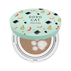 Кушон Holika Holika Face 2 Change DoDo Cat Glow Cushion BB (Dodos Going Out) 21 (Цвет 21 Light Beige variant_hex_name F2CFB3)