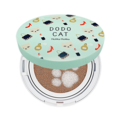 Кушон Holika Holika Face 2 Change DoDo Cat Glow Cushion BB (Dodos Going Out) 23 (Цвет 23 Natural Beige variant_hex_name E9C4A7)