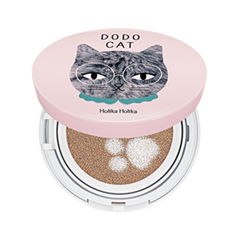 Кушон Holika Holika Face 2 Change DoDo Cat Glow Cushion BB (DoDos Rest) 21 (Цвет 21 Light Beige variant_hex_name F0CEB2)