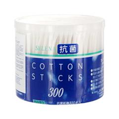 Мелочи для макияжа Marusan Ватные палочки Selena Cotton Stocks (Объем 300 шт.)