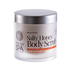 Скрабы и пилинги Natura Siberica Bania Detox Salty Honey Body Scrub (Объем 400 мл)