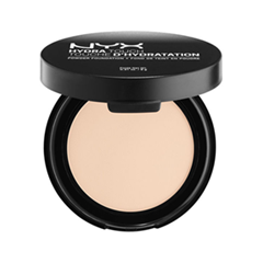 Пудра NYX Professional Makeup Hydra Touch Powder Foundation 01 (Цвет 01 Porcelain variant_hex_name DDA87E)