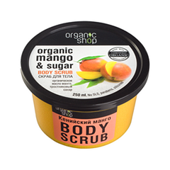 ������ � ������� Organic Shop Organic Mango & Sugar Body Scrub (����� 250 ��)