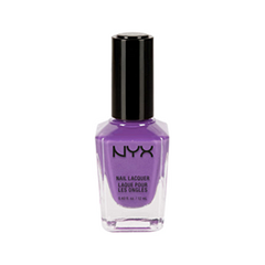 Лак для ногтей NYX Professional Makeup Nail Lacquer 41 (Цвет 41 Get Lily With It variant_hex_name 9F66AD)