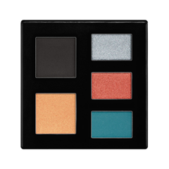 Тени для век NYX Professional Makeup Rocker Chic Palette 01 (Цвет 01 California Dreaming variant_hex_name ACBEC8)