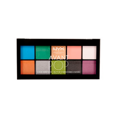 Тени для век NYX Professional Makeup Avant Pop! Shadow Palette 01 (Цвет 01 Art Throb variant_hex_name 3E6590)