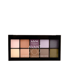 Тени для век NYX Professional Makeup Avant Pop! Shadow Palette 03 (Цвет 03 Nouveau Chic variant_hex_name BE8A75)