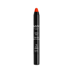 Карандаш для губ NYX Professional Makeup Jumbo Lip Pencil 704 (Цвет 704 Hot Red variant_hex_name C32838)