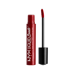 Жидкая помада NYX Professional Makeup Liquid Suede Cream Lipstick 03 (Цвет 03 Cherry Skies variant_hex_name 932B26) sleek makeup губная помада lip v i p lipstick 3 6 гр 9 оттенков губная помада lip v i p lipstick 3 6 гр attitude тон 1012 3 6 гр