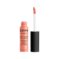 Жидкая помада NYX Professional Makeup Soft Matte Lip Cream 12 (Цвет Buenos Aires variant_hex_name F3B7AC)