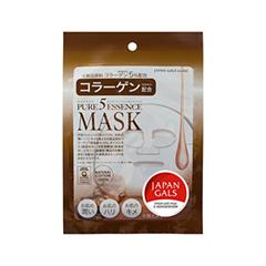 Тканевая маска Japan Gals Маска с коллагеном Pure 5 Essential