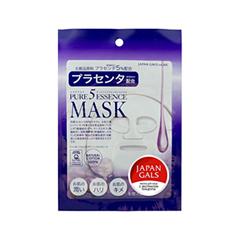 Тканевая маска Japan Gals Маска с плацентой Pure 5 Essential