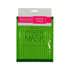 Тканевая маска Japan Gals Natural Organic Mask Herb