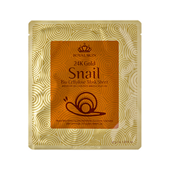 Тканевая маска Royal Skin 24K Gold Snail Bio Cellulose Mask Sheet (Объем 35 мл)