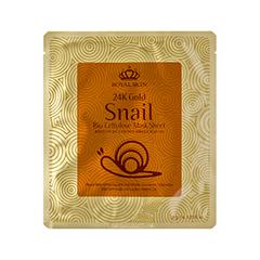 �������� ����� Royal Skin 24K Gold Snail Bio Cellulose Mask Sheet (����� 35 ��)