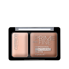 Корректор Catrice Prime And Fine Professional Contouring Palette 010 (Цвет 010 Ashy Radiance variant_hex_name F4C6B6)
