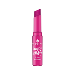 Цветной бальзам для губ essence Happy Holidays Tinted Lip Balm 02 (Цвет 02 Sugar Plum Fairy)