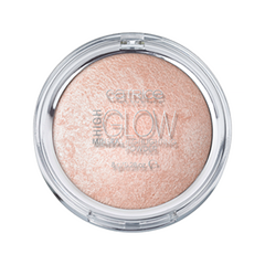 Хайлайтер Catrice High Glow Mineral Highlighting Powder (Цвет 010 Light Infusion variant_hex_name EBC4B7) хайлайтер catrice highlighting powder 015 цвет 015 merry cherry blossom variant hex name e7a5ab