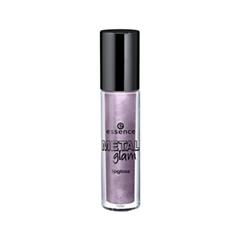 ����� ��� ��� essence Metal Glam Lipgloss 01 (���� 01 Petal To The Metal)