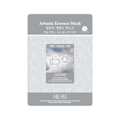 Тканевая маска Mj Care Arbutin Essence Mask (Объем 23 г) тканевая маска bioaqua animal tiger supple mask объем 30 г