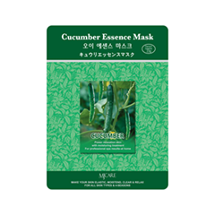 Тканевая маска Mj Care Cucumber Essence Mask (Объем 23 г)