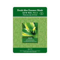 Тканевая маска Mj Care Fresh Aloe Essence Mask (Объем 23 г)