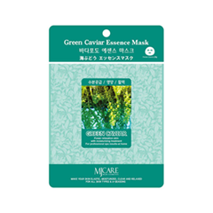 Тканевая маска Mj Care Green Caviar Essence Mask (Объем 23 г)